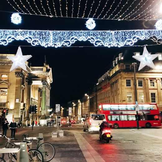 Newcastle's Christmas markets
