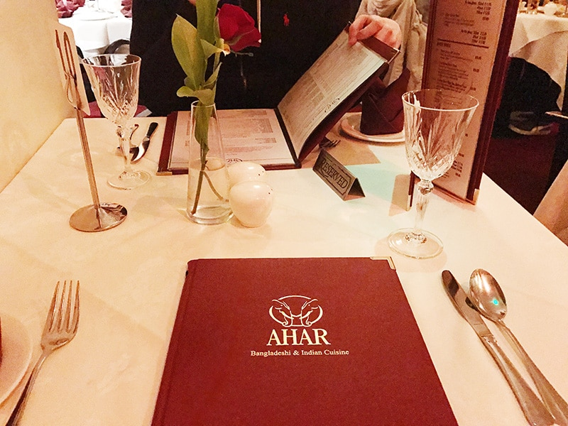 Ahar Indian restaurant