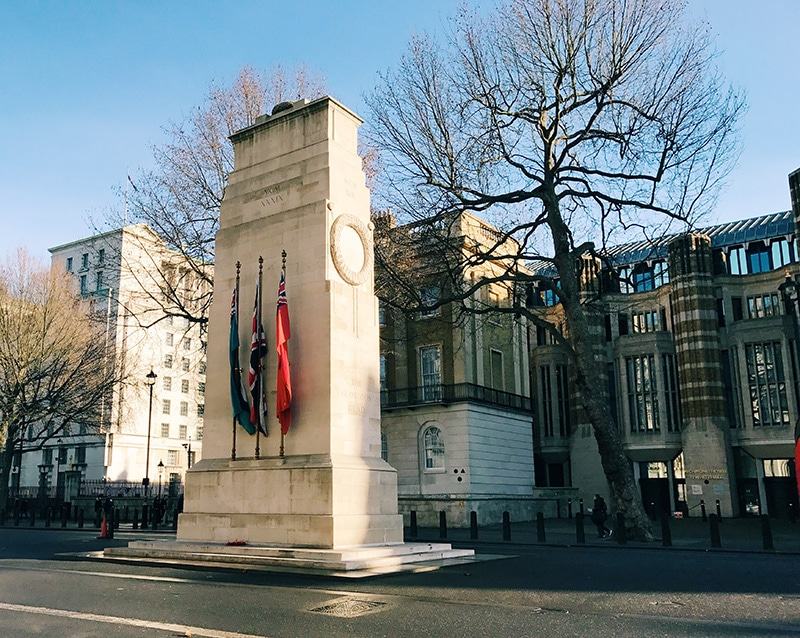 Cenotaph London Whitehall
