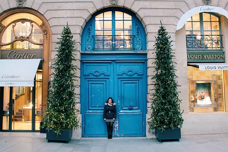 Paris doorway