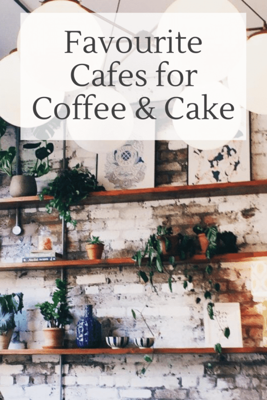 Favourite cafes for coffee and cake
