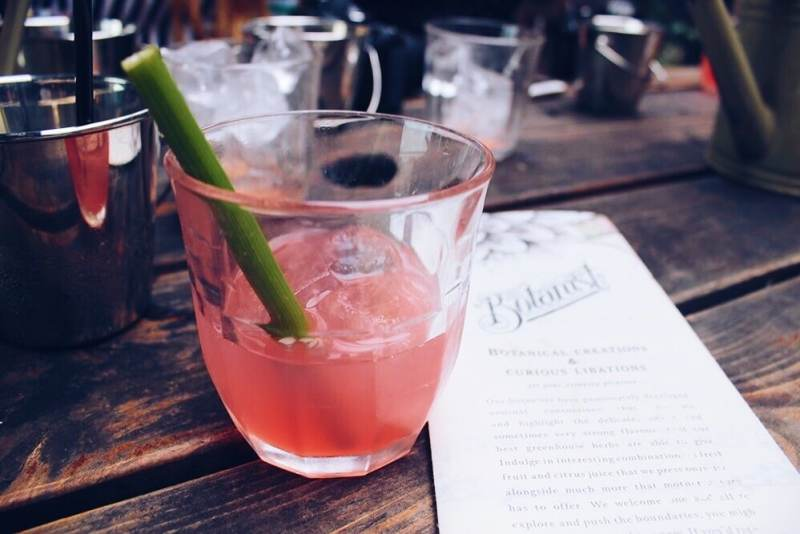 The Botanist summer cocktail menu