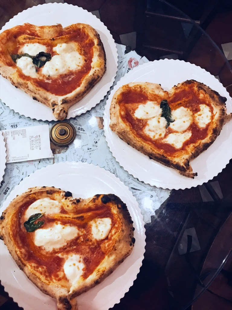 Heart Shaped Pizza, Florence