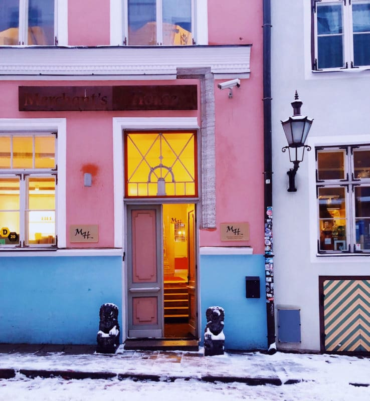 The Colourful Doorways of Tallinn, Estonia