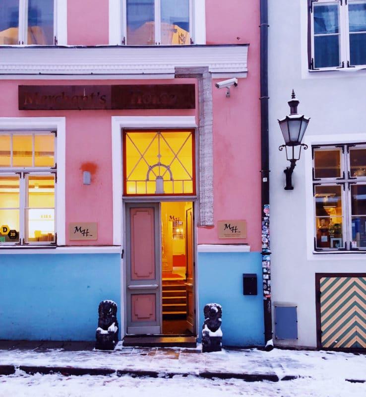 The Colourful Doorways of Tallinn, Estonia
