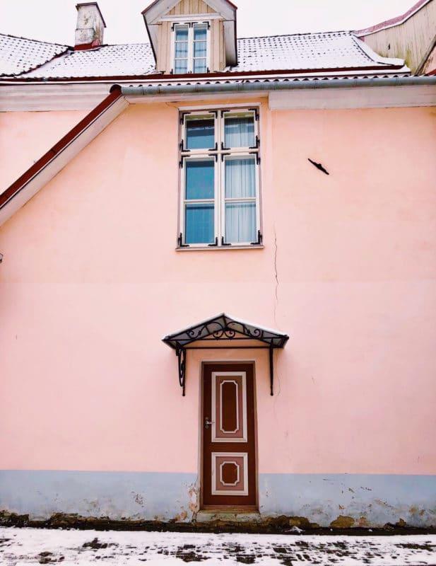 Colourful doorways of Tallinn