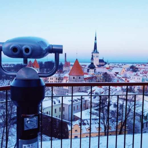 Finding the best city views in Tallinn