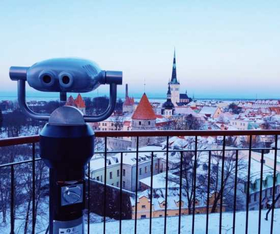 Finding the best city views in Tallinn