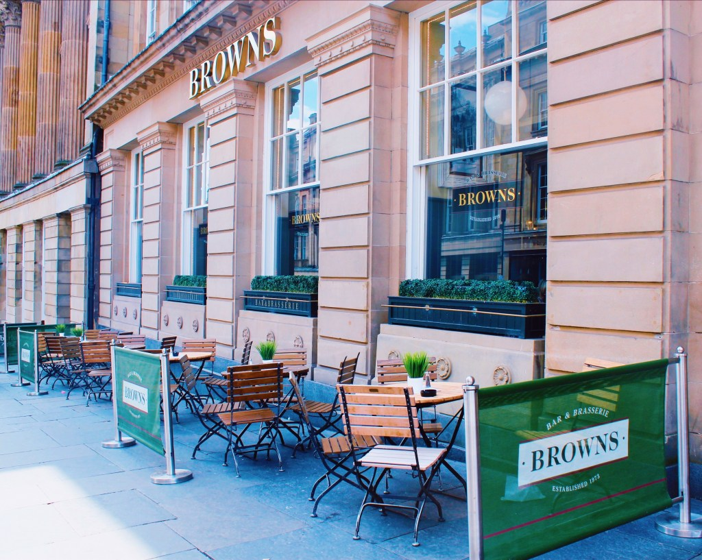 Bars in Newcastle with outdoor terraces