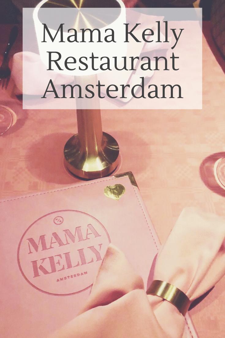 Visiting Mama Kelly Restaurant, Amsterdam