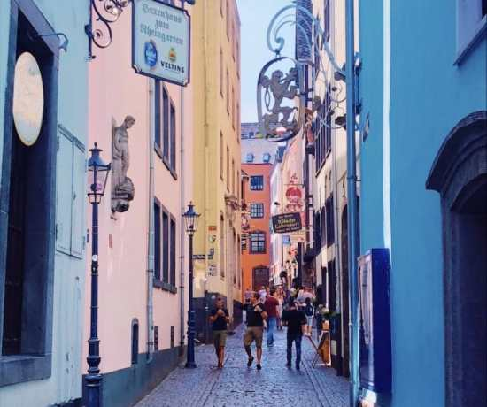 The most colourful spots in Cologne and Bonn, Germany