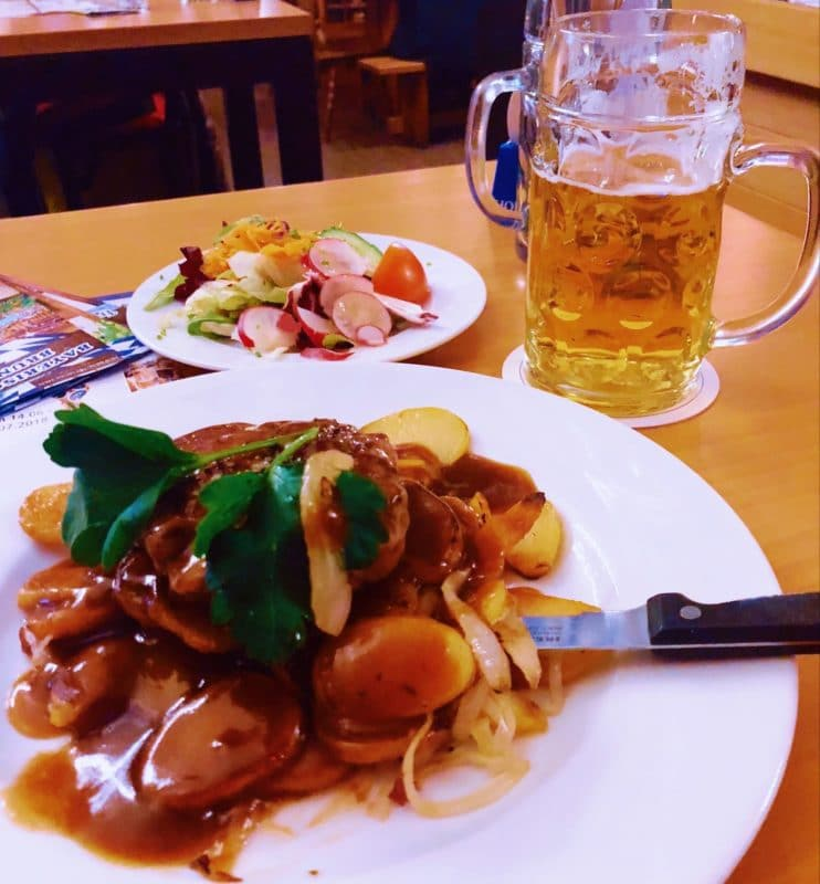 Oktoberfest at Hofbräu Wirtshaus on Speersort, Hamburg