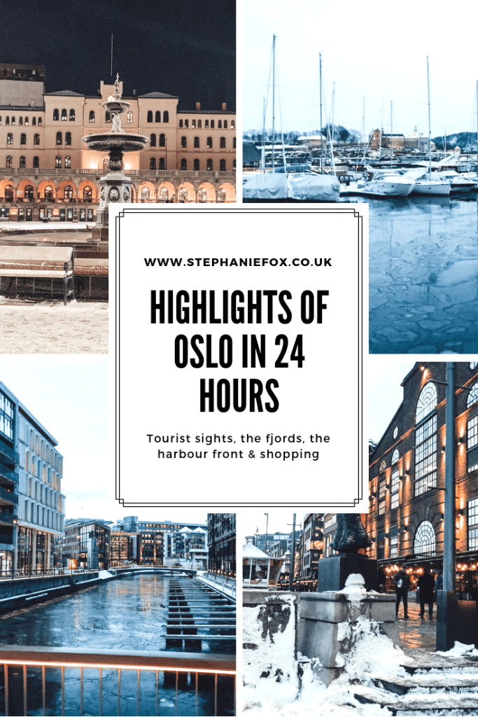Highlights of Oslo in 24 hours