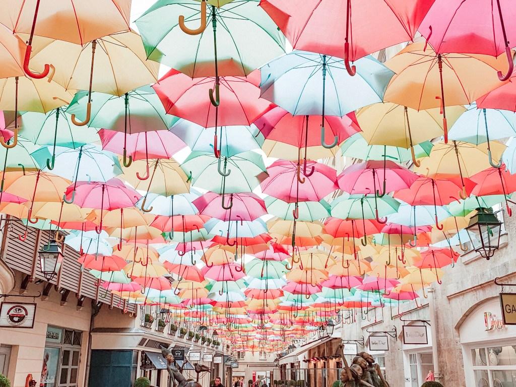 umbrella sky project paris