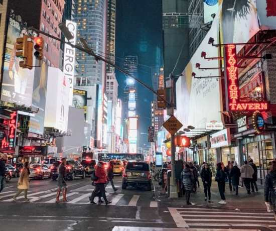 Itinerary for 5 days in New York City