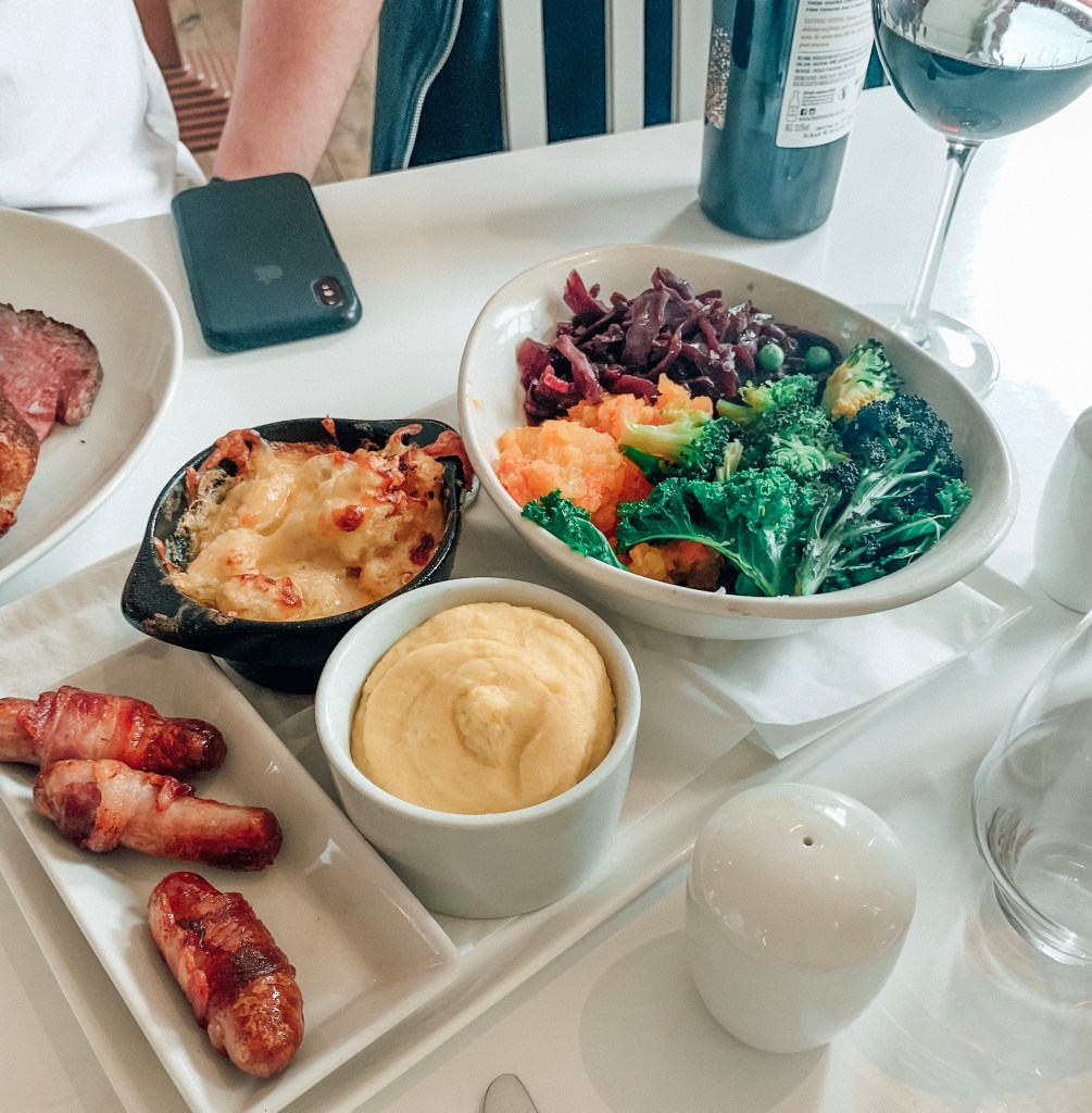 Sunday Dinner at Branches, Jesmond