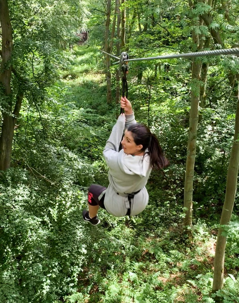 Go Ape Treetop Challenge at Matfen Hall