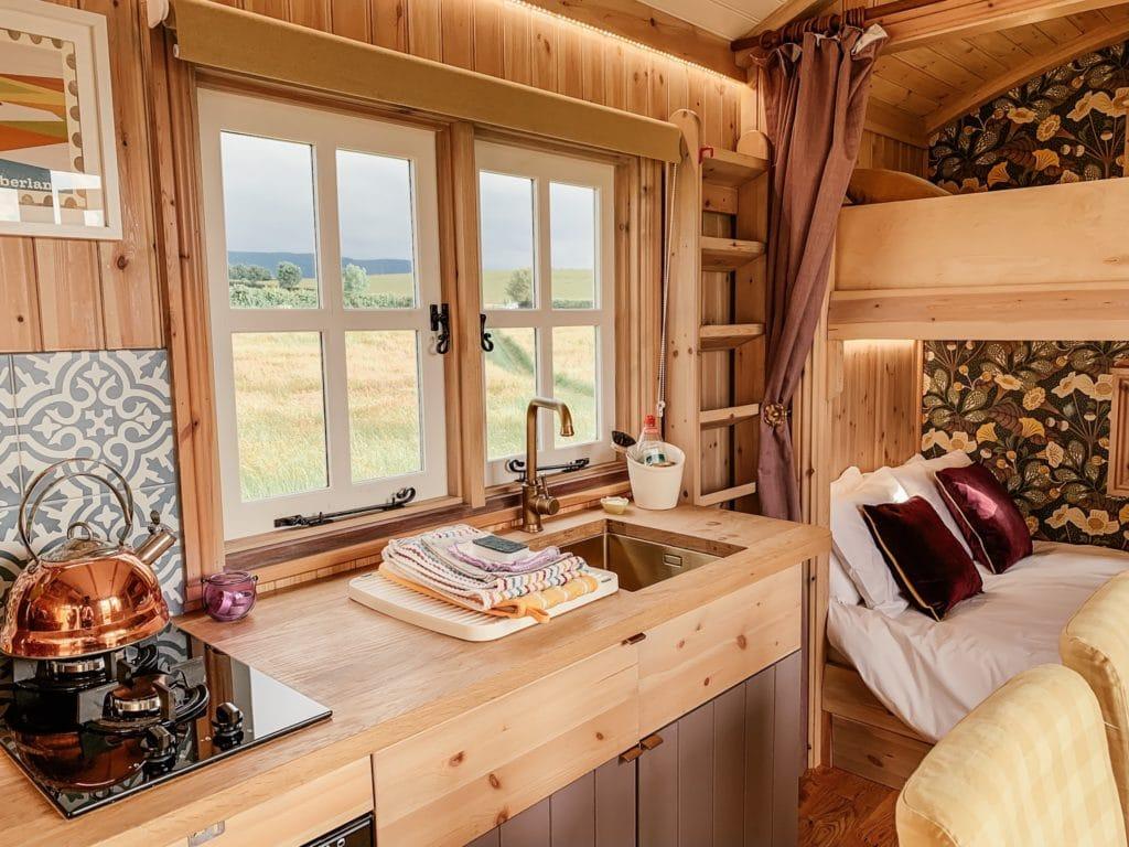 Westfield House Farm Shepherd's huts