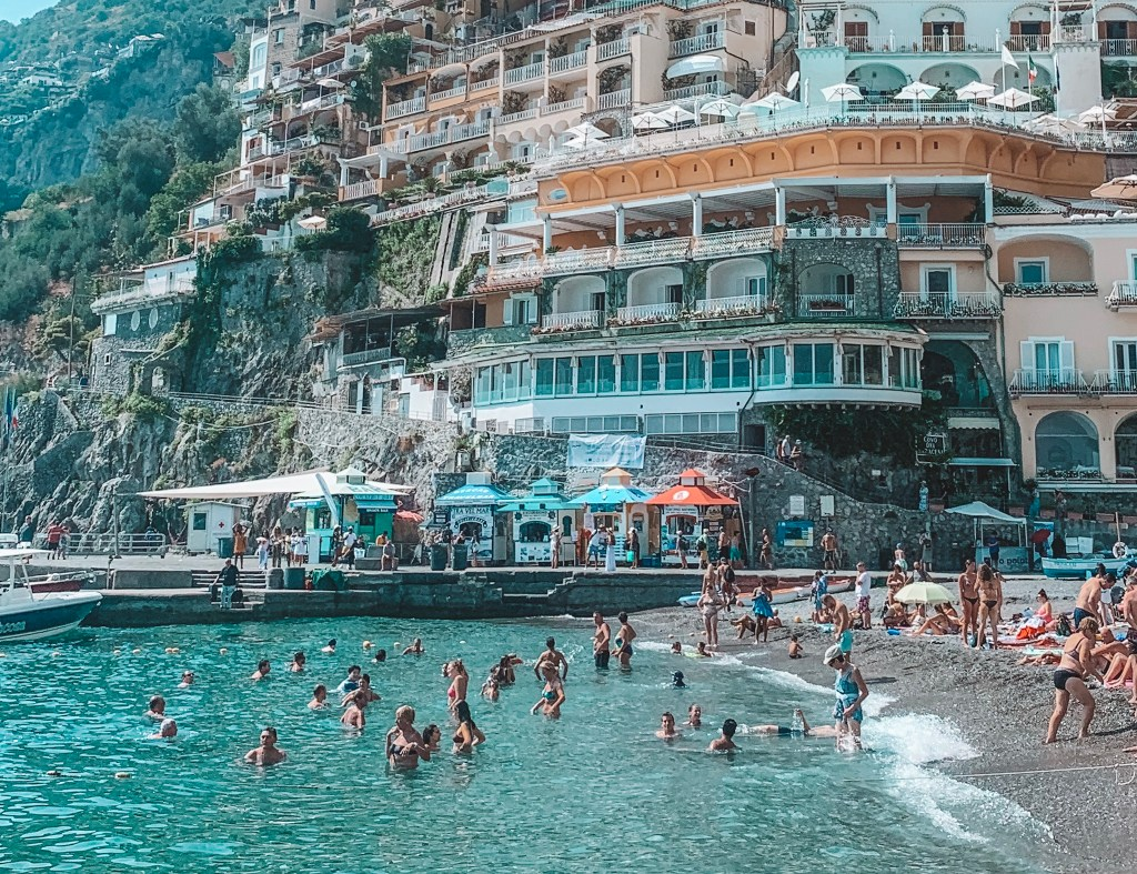 Postcards from Positano, Italy