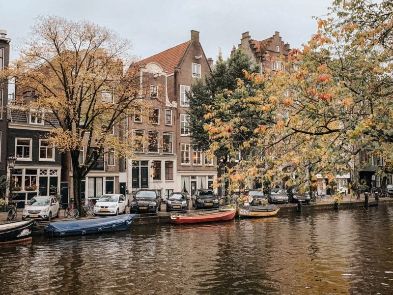 Where to find Autumn colours in Amsterdam