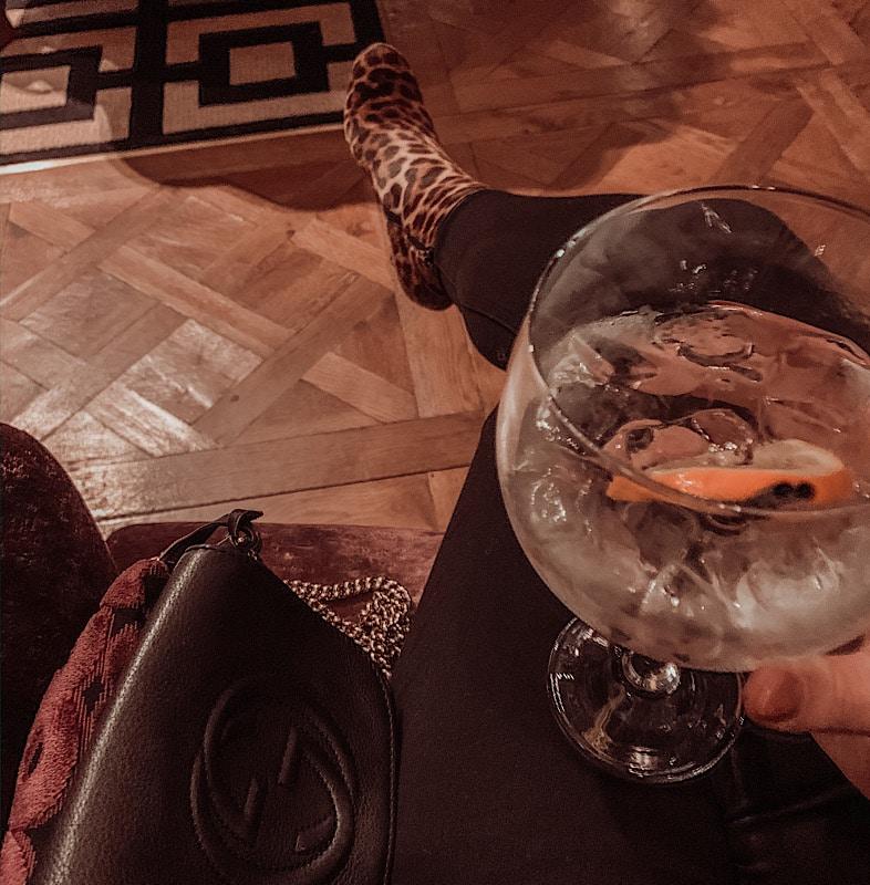 gin cocktail at armathwaite