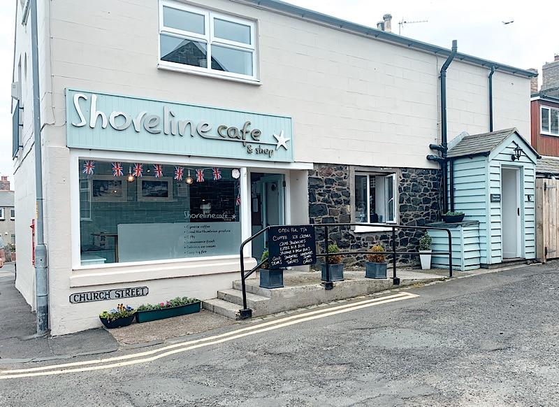 Shoreline cafe, Craster