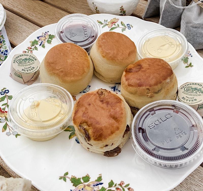 noon tea takeaway scones