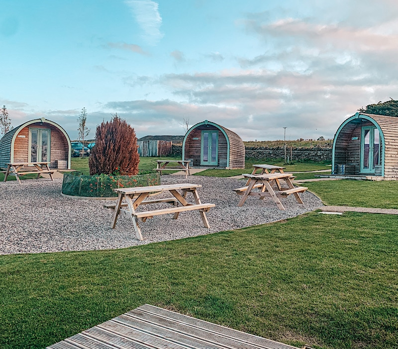 Hill Top Huts Glamping In Teesdale