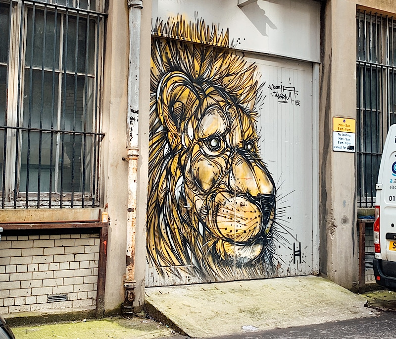 Glasgow Street Art With Walking Tours In Glasgow