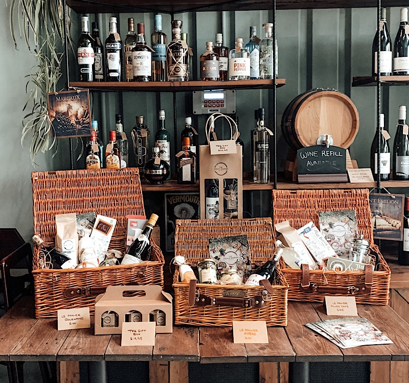 The French Quarter hampers