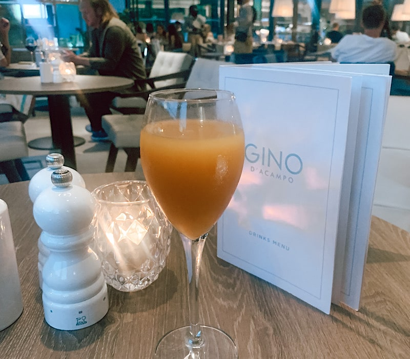 A Stay At INNsIDE By Melia & Dinner At Gino's Restaurant Newcastle