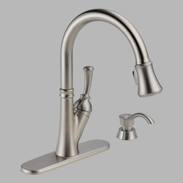 Delta Cassidy Kitchen Faucet Cassidy Single Handle Channel