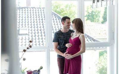 Séance grossesse lifestyle à domicile