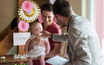 Baptême civil à Obernai