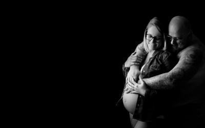 Séance grossesse en studio à Obernai