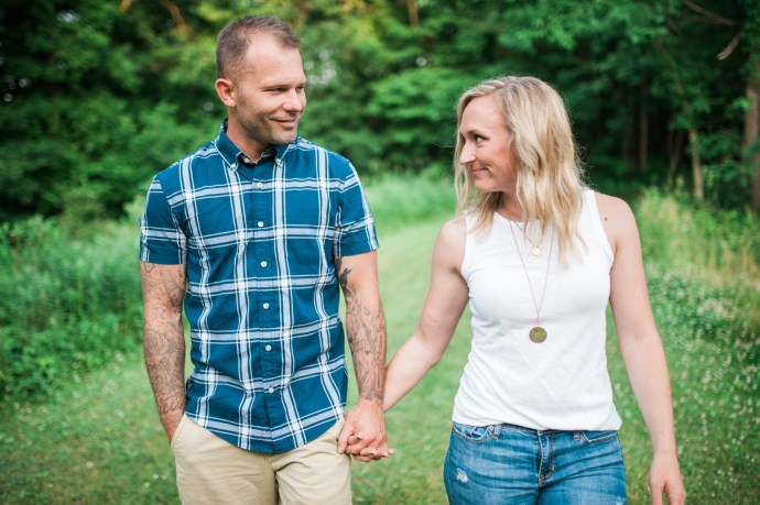 ©StephanieMariePhotography_Solon Engagement Summer 2016 Tattoos and Blonde hair-13