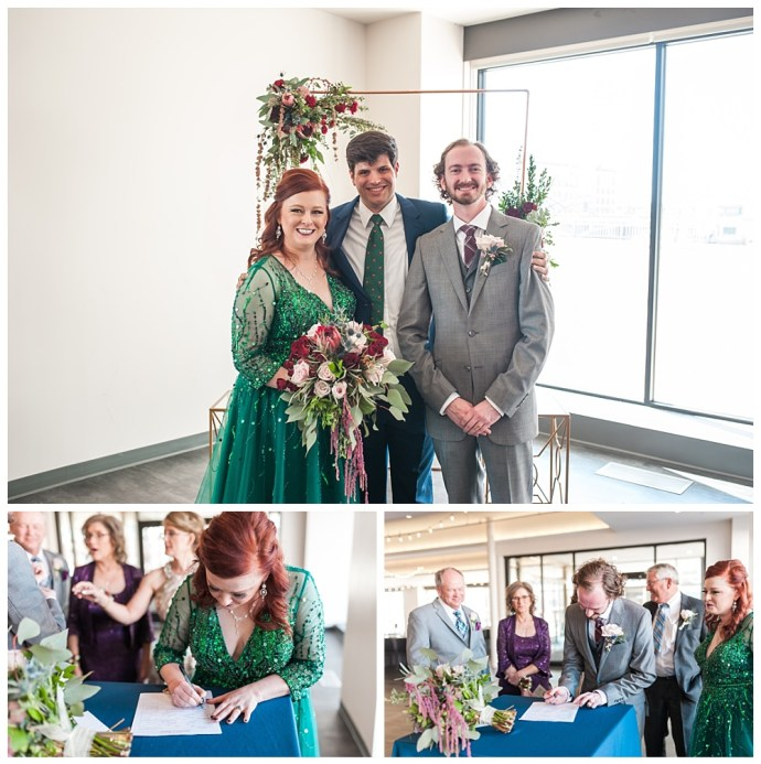 Stephanie Marie Photography Eastbank Venue and Lounge Cedar Rapids Iowa City Wedding Photographer Pete Leslie Akers 59