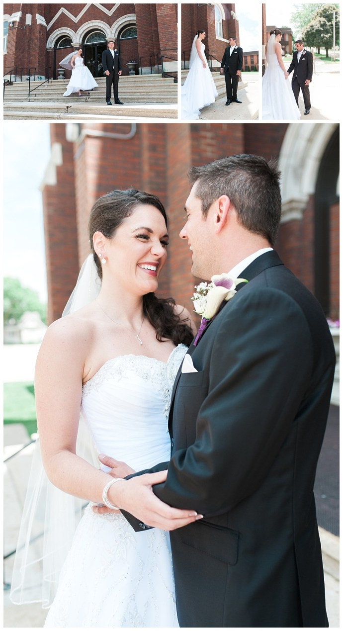 Stephanie Marie Photography Sacred Heart Church Grand River Center Monticello Dubuque Iowa City Wedding Photographer Tom Lindsay 7