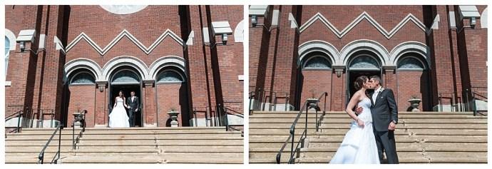 Stephanie Marie Photography Sacred Heart Church Grand River Center Monticello Dubuque Iowa City Wedding Photographer Tom Lindsay 13