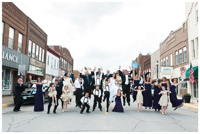 Stephanie Marie Photography Sacred Heart Church Grand River Center Monticello Dubuque Iowa City Wedding Photographer Tom Lindsay 14