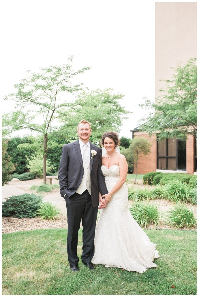 Stephanie Marie Photography Echo Hill Presbyterian Church Marriott Cedar Rapids Iowa City Wedding Photographer Tom Meghan 1