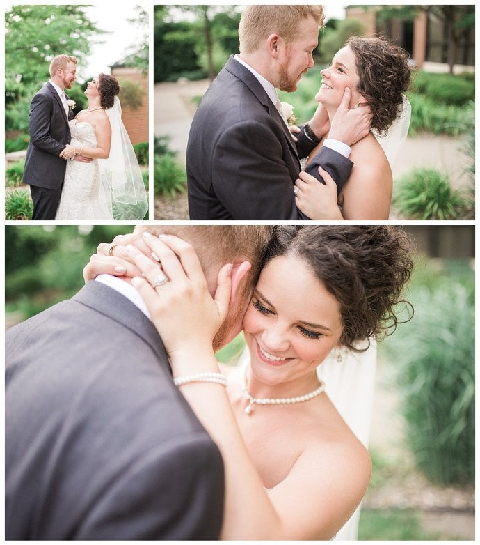 Stephanie Marie Photography Echo Hill Presbyterian Church Marriott Cedar Rapids Iowa City Wedding Photographer Tom Meghan 17
