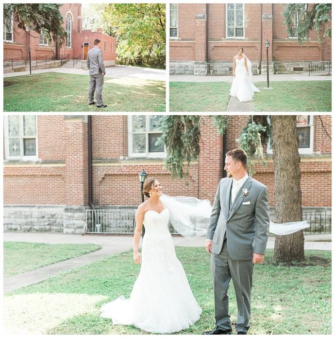 Stephanie Marie Photography Corpus Christi Catholic Church Fort Dodge Iowa City Wedding Photographer Joe Ashley 12
