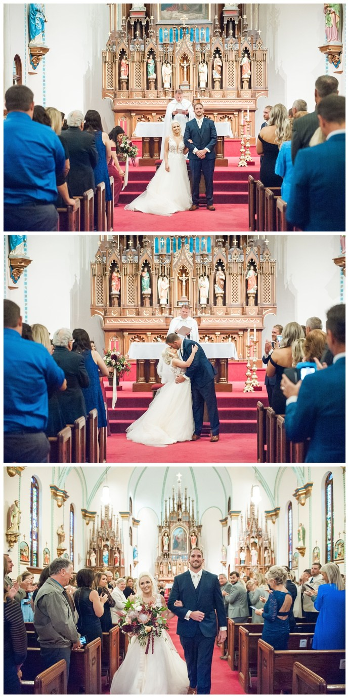Stephanie Marie Photography Saint Marys Catholic Church Bella Sala Wedding Iowa City Tiffin Wedding Photographer Alex Bobby Telford_0037.jpg