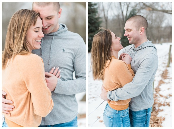 Stephanie Marie Photography Winter Engagement Session Iowa City Wedding Photographer Chelsey Justin_0015.jpg