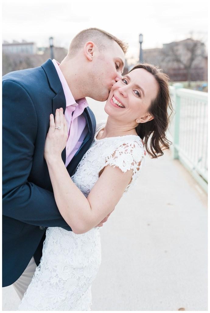 Stephanie Marie Photography IMU Building Engagement Session Iowa City Wedding Photographer Jen Nick_0018.jpg