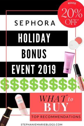 sephora vente 2019 ce qu'il faut acheter