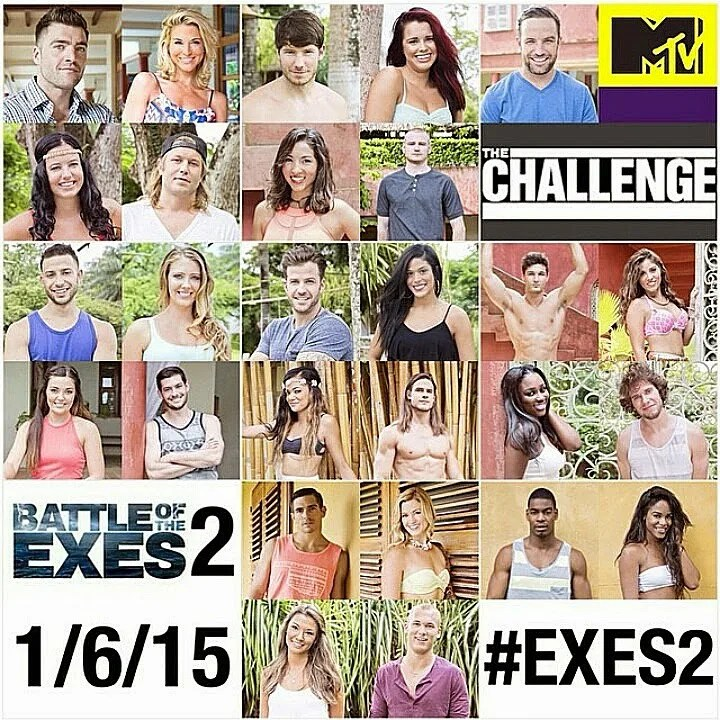 MTV The Challenge: Battle of the Exes 2 // stephanieorefice.net