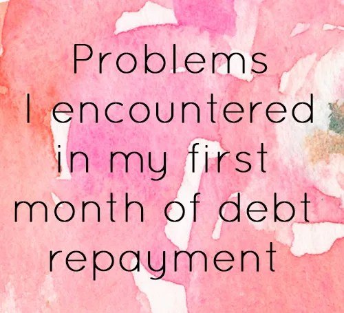 Debt Repayment Update #1 // stephanieorefice.net
