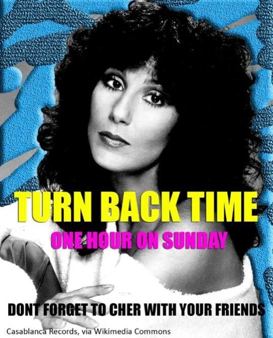 Cher Turn Back Time // stephanieorefice.net
